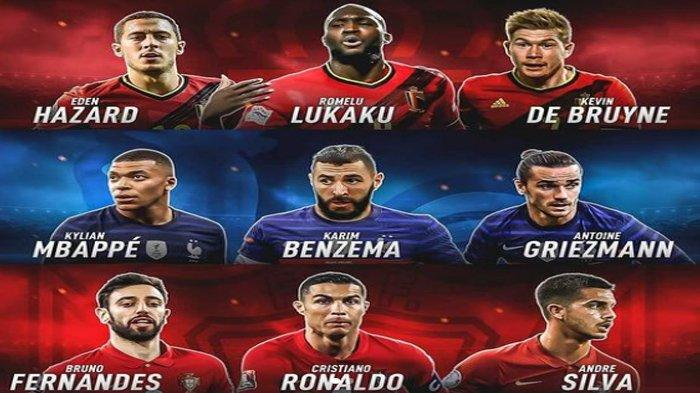 Daftar Trisula Maut yang Bakal Tampil Membela Negaranya di Piala Eropa 2020, Inggris Menggila