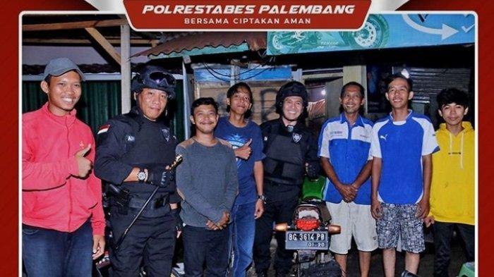 Sekda Kota Palembang Ikut Operasi Keamanan Bersama Tim Hunter Polrestabes Palembang