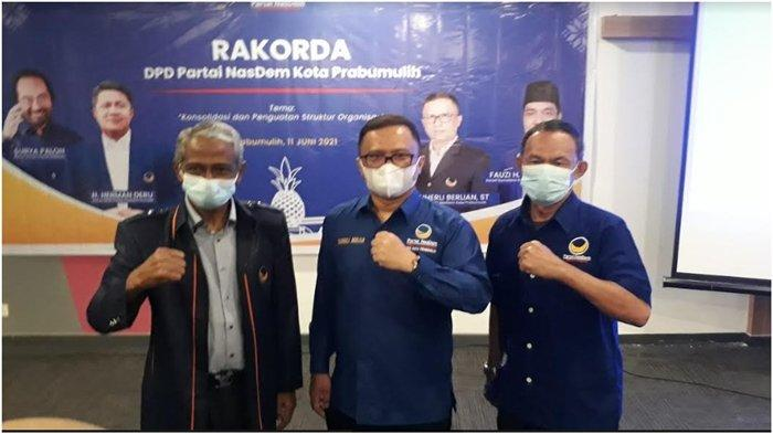 Partai Nasdem Prabumulih Target 4 Kursi Pileg 2024, Kerja Nyata Pro Rakyat, Gerakkan Mesin Politik