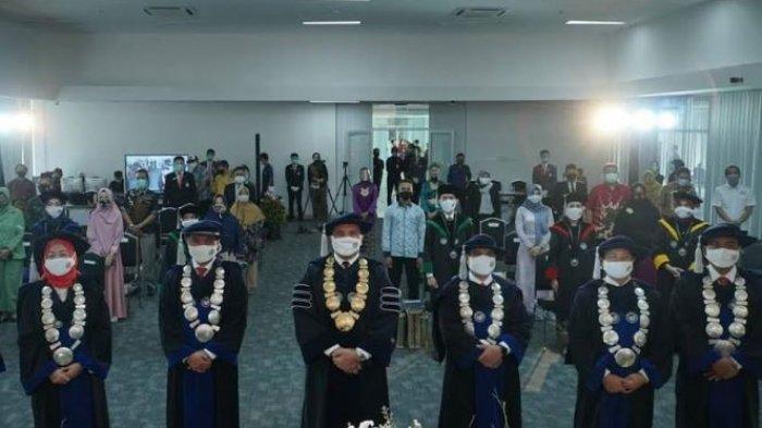 274 Mahasiswa Poltek Pariwisata Palembang Mengikuti Wisuda Secara Virtual