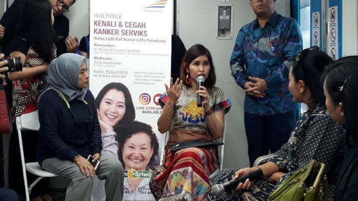 RS Siloam Sriwijaya Gelar Healthtalk Kenali dan Cegah Kanker Serviks di Atas LRT Sumsel