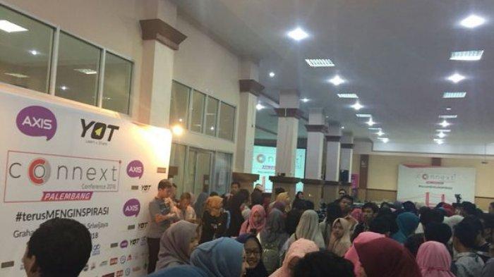 Seminar Insipirasi Connext Conference Mengguncang Ribuan Mahasiswa