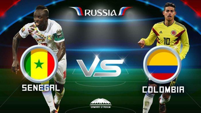Nonton Live Streaming Piala Dunia Senegal Vs Kolombia di HP via Indosat, XL dan Telkomsel