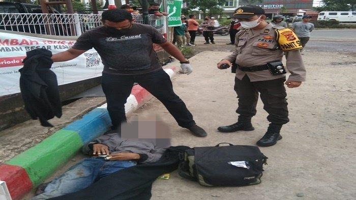 Penumpang Bus Muntah Darah Lalu Meninggal di SPBU Depan Poligon Palembang, Ini Kronologinya