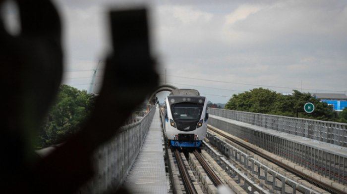 Inilah 5 Stasiun LRT Favorit yang Dituju Warga Palembang