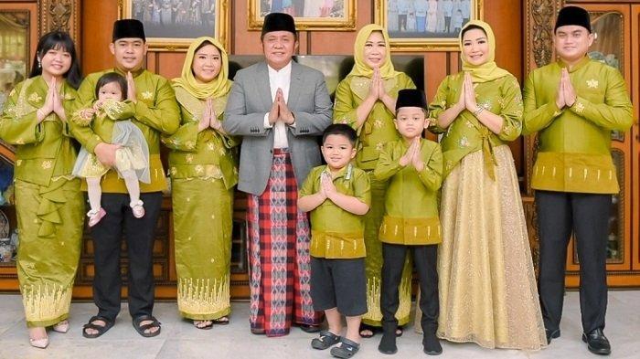 Keluarga Gubernur Sumsel Kompak Kenakan Produk UMKM dan Desainer Asal Sumsel