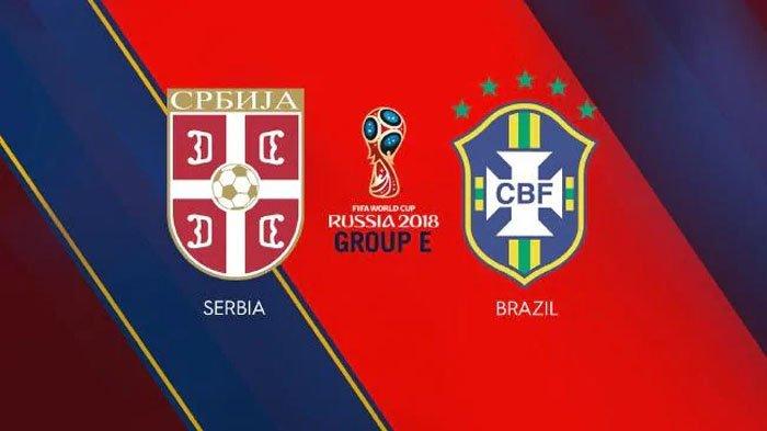 Nonton Live Streaming Piala Dunia Serbia Vs Brasil di HP via Indosat, XL dan Telkomsel