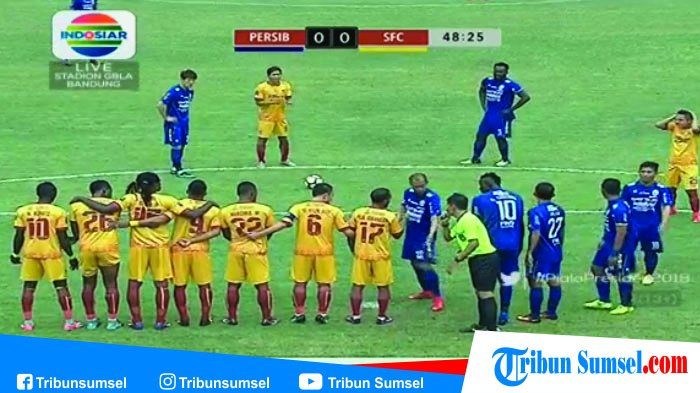 SFC vs Persib Bandung : Berikut Line Up Pemain, Dzhalilov, Vizcarra, Beto Tampil Sejak Menit Awal