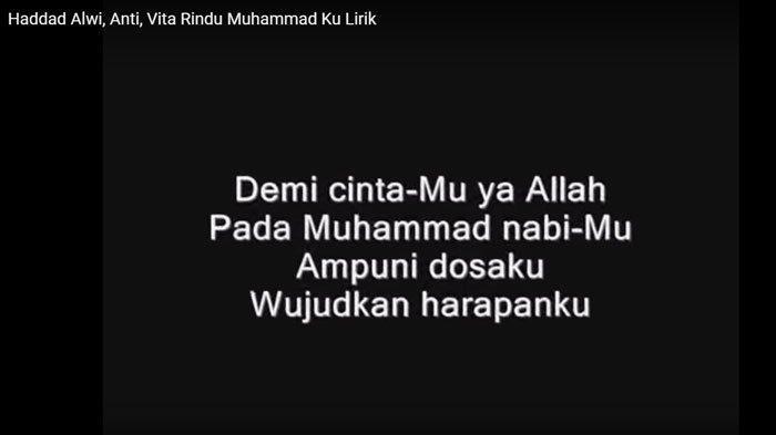 Sholawat Rindu Muhammad Haddad Alqi, Ya robbi bil mustofa Baligh maqo lengkap dengan video klipnya