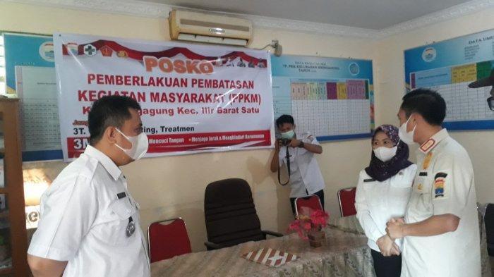 Breaking News: 62 Kelurahan Palembang Masuk Zona Merah, Fungsi Posko PPKM Dioptimalkan