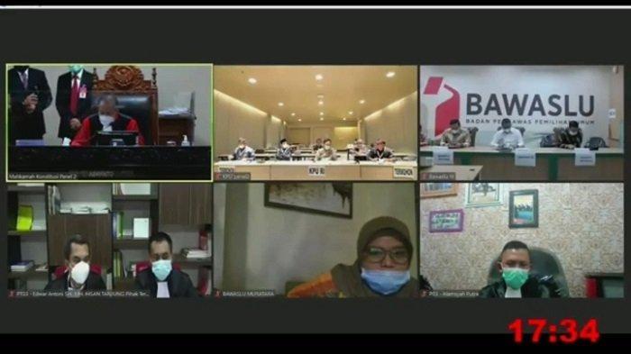 Sidang Lanjutan Pilkada Muratara di MK, KPU Sebut Permohonan Syarif-Surian Tak Jelas