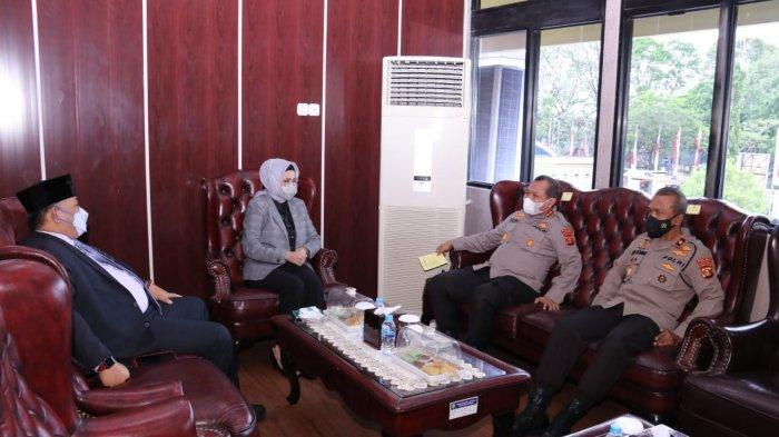 Silahturahmi Kapolda Sumsel Irjen Pol Toni Harmanto ke DPRD Provinsi Sumsel