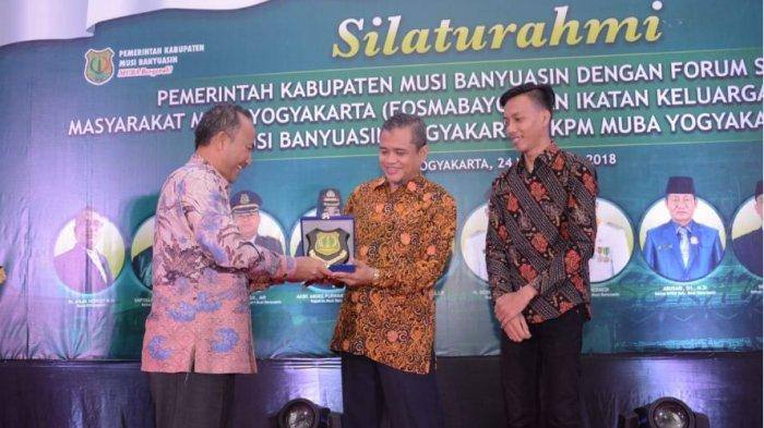 Sekda Muba Ajak IKPM dan Fosmabayo Muba Yogyakarta Berperan Membangun Daerah
