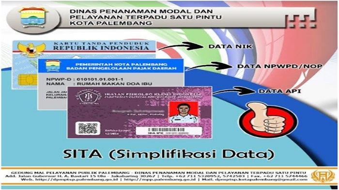 DPMPTSP Palembang Berinovasi Hadirkan Simplifikasi Data (SITA)