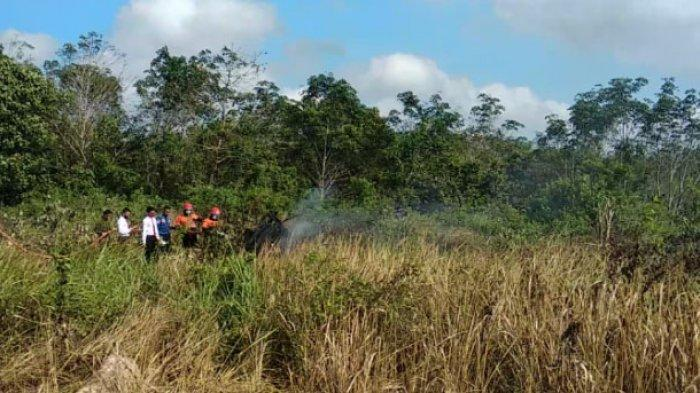 Kobaran Api Muncul di Lapangan Terbang Stanvac PALI, Ribuan Personil dan Peralatan Diturunkan