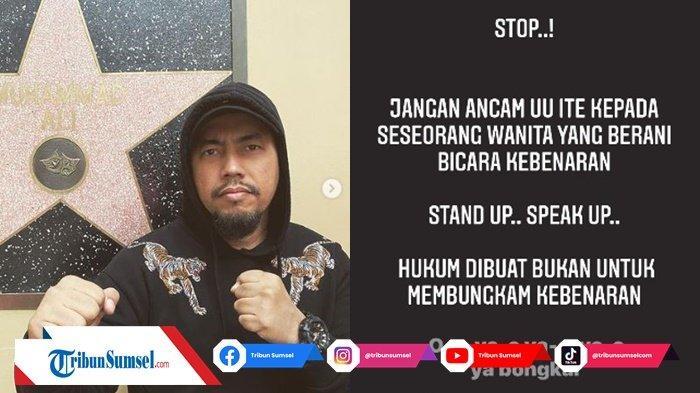 Postingan Sunan Kalijaga Kembali Sindir Ayah Taqy Malik? Sunan : Stop Jangan Ancam UU ITE