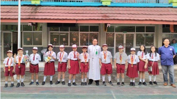 12 Siswa SDK Xaverius 2 Palembang Raih Medali di Ajang Olimpiade Matematika Anak Bangsa