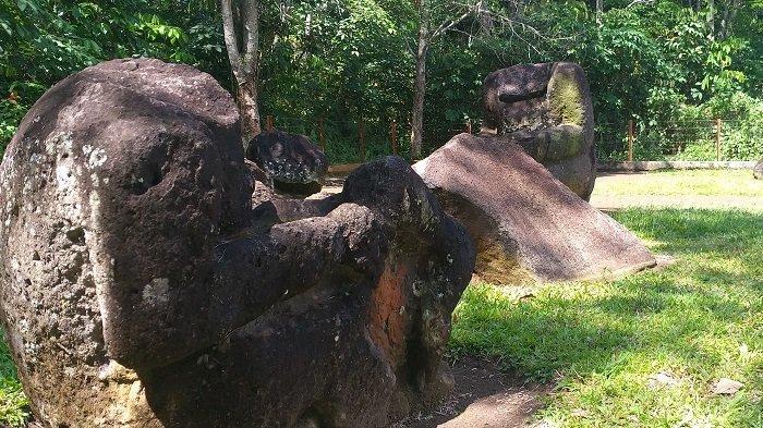 Melihat Situs Megalitikum Desa Rinduati Lahat, Sejumlah Bagian Kepala Dirusak