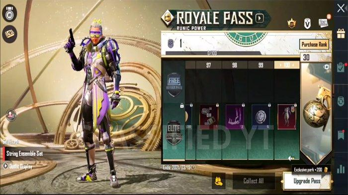 Bocoran Skin Level 100 PUBG Mobile Royale Pass 18