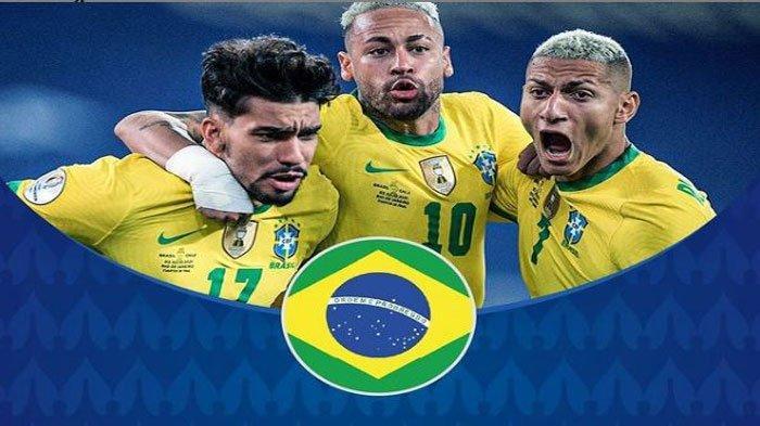 Ini Skuad Pemain Timnas Brasil di Copa America 2021, Lengkap Daftar Usia dan Asal Klub
