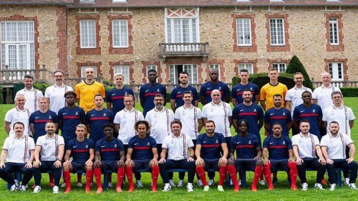 Skuad Pemain Sepakbola Prancis di Olimpiade Tokyo 2020, Lengkap Asal Klub dan Nomor Punggung