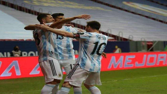 Daftar Lengkap Skuad Pemain Argentina di Copa America 2021, Waktunya Messi Angkat Trofi?