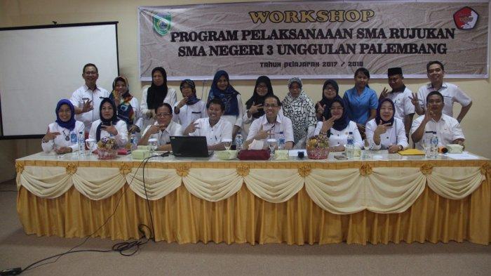 SMA Negeri 3 Unggulan Palembang Gelar Workshop Tentang RPP