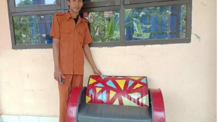 Lihat Kreativitas Siswa SMK di OKU Selatan Ini, Drum Bekas Jadi Sofa Cantik Bernilai Jutaan Rupiah