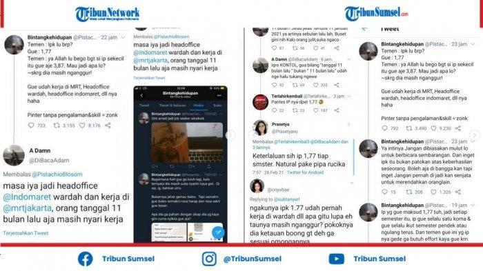 Cuitan Mau Sombong Tapi Ketahuan Bohong, Kata Kunci IPK 1,77 Trending di Twitter