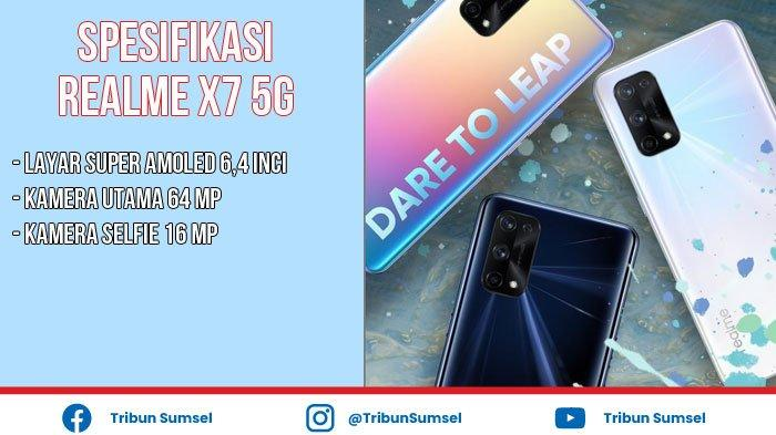Spesifikasi dan Harga Realme X7 5G Terbaru 2021, Dilengkapi Kamera Selfie 16 Mega Piksel