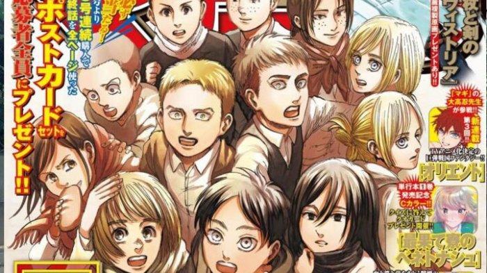 Spoiler dan Link Baca Manga Attack On Titan Chapter 139 Bahasa Indonesia, Rilis 9 April 2021