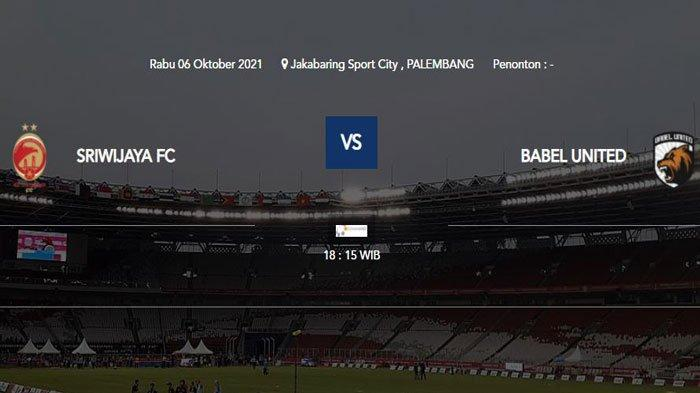 Jadwal Liga 2 Sriwijaya FC vs Muba Babel United, Pertandingan Tayang di O Channel