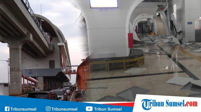 Stasiun LRT DJKA (OPI Jakabaring) Rusak Parah, Stasiun Ditutup Sementara, Ini Pengalihan Rute