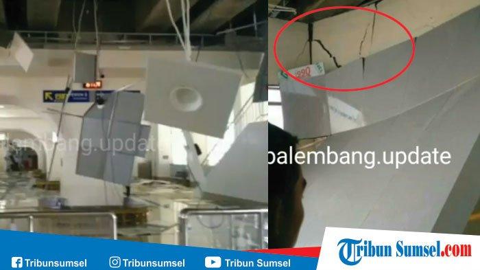 Stasiun LRT OPI Jakabaring Rusak Parah, Ini Lamanya Waktu untuk Perbaikan, Ditutup Sementara
