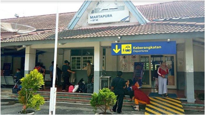 Stasiun Martapura OKU Timur Tetap Berangkatkan KA, Ini Syarat yang Harus Dilengkapi Penumpang