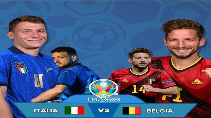 Statistik dan Head to Head Belgia vs Italia Euro 2020, Duel yang Akan Menodai Kesempurnaan Lawan