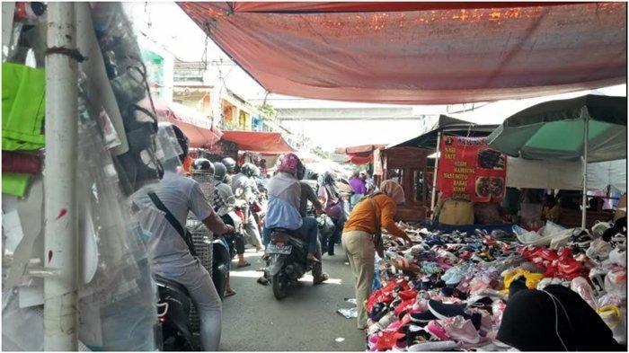 Kawasan 16 Ilir Padat, Pemerintah Kota Palembang Diminta Tegas Tertibkan Pasar 16 Ilir