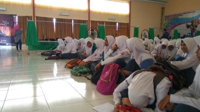 Siswa Baru SMA Negeri 5 Palembang Bayar Sumbangan untuk THR dan Makan Guru