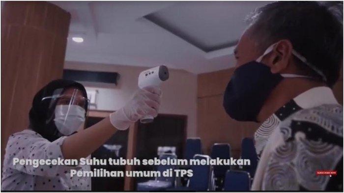 Alur Pencoblosan Pilkada Aman di TPS Saat Pandemi Covid-19