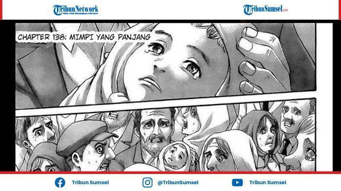 Sudah Rilis, Link Baca Manga Attack On Titan Chapter 138 Sub Indo, Sampai Jumpa Lagi Eren