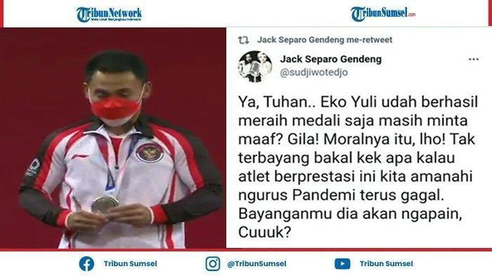 Presiden Ini Minta Eko Yuli Tak Usah Minta Maaf Meski Tak Dapat Medali Emas di Olimpiade