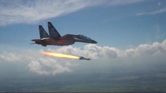 Mengintip Kecanggihan dan Kelebihan Pesawat Sukhoi TNI AU yang Berhasil Lakukan Tes Rudal KH-29TE