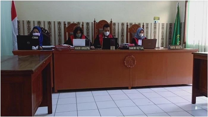 Suman Warga Pedamaran Timur OKI Konsumsi Sabu Saat Main Judi Song, Divonis  4 Tahun 6 Bulan Penjara