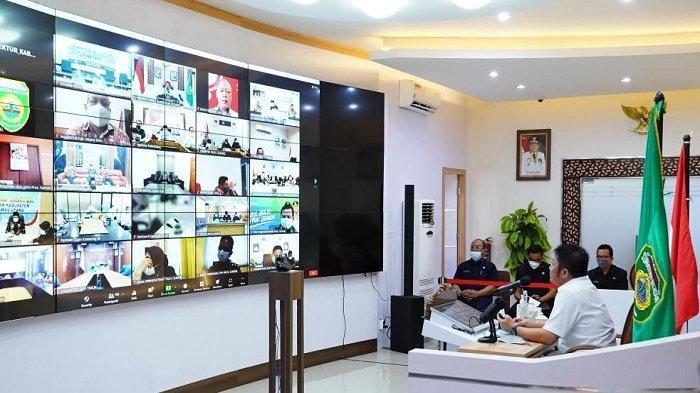 Gubernur Sumsel Herman Deru Sosialisasi Penerapan WBS ke Kabupaten dan Kota