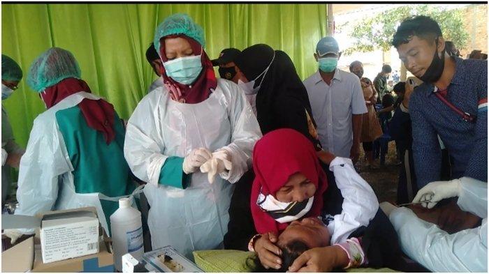 Jerit Tangis Anak-anak, Teriak 'Burung Aku Sakit', Sunat Massal TMMD ke-110 Kodim 0418 Palembang