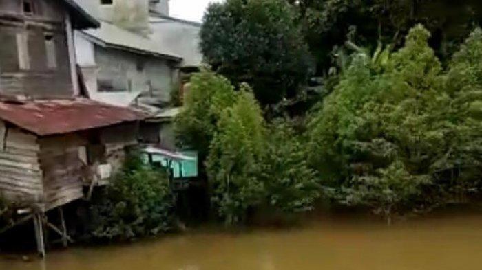 Sungai Lembak Kecamatan Bengalon lokasi kejadian korban yang dimakan buaya