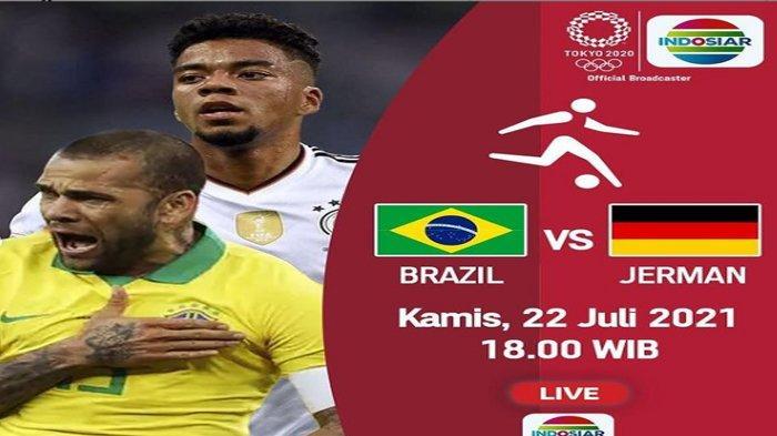 Jadwal Sepakbola Olimpiade 2020 Brasil Vs Jerman Sore Ini, Partai Ulangan Final Edisi Rio 2016
