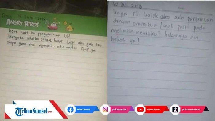 17 Tahun Tinggal Bersama Kakek dan Neneknya, Sang Cucu Buat Haru Netizen Lewat 3 Surat Tulisannya
