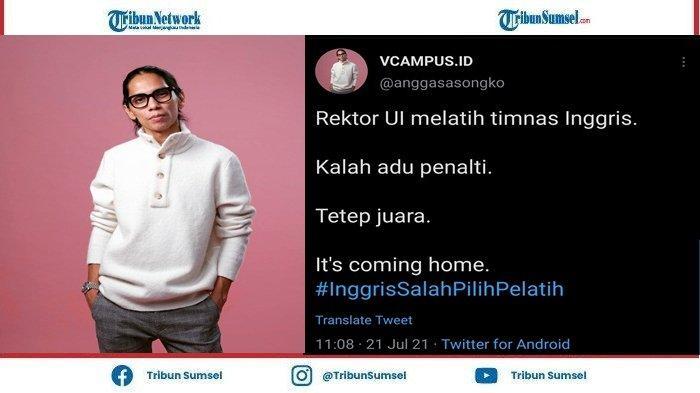 Sutradara Angga Sasongko Ikut Sindir Rektor UI Ari Kuncoro Usai Viral Rangkap Jabatan