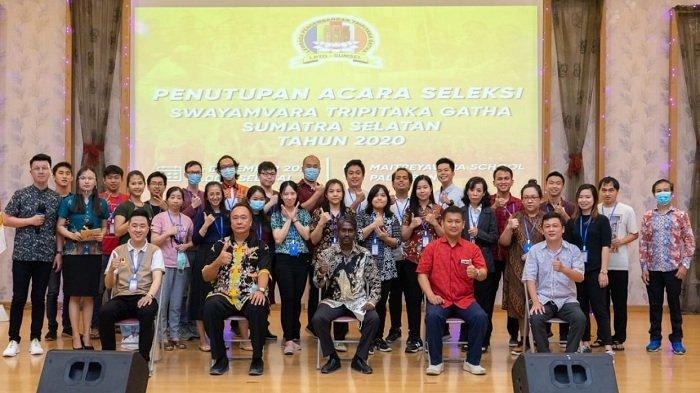 Penutupan Acara Seleksi Swayamvara Tripitaka Gatha Daerah Sumatra Selatan